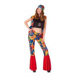 Disfraz hippie chica rubies