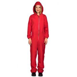 Disfraz convicta rojo