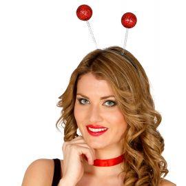 Antenas escarcha rojo