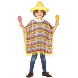 Poncho mexicano inf 7-9