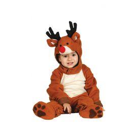 Disfraz bebe reno 6-12 meses