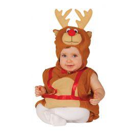 Disfraz baby reno 6-12 meses