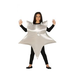 Disfraz estrella plata gu