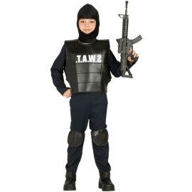 Disfraz policia swat gu