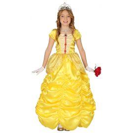 Disfraz princesa amarilla inf