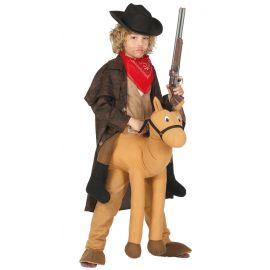 Disfraz vaquero caballo inf