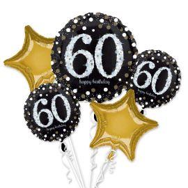 Bouquet globos 60 años