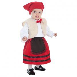 Disfraz bebe pastora chaleco