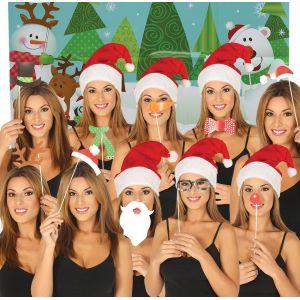 Photo call navidad 10 piezas