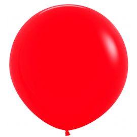 Globo r24 rojo 60cm