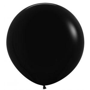 Globo r24 negro metal 60 cm