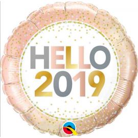 Globo helio hello 2019