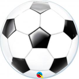 Globo helio burbuja pelota futbol