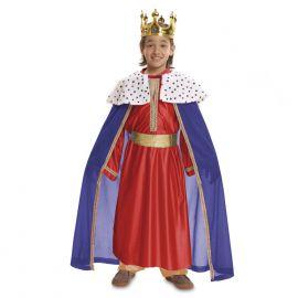 Disfraz rey mago rojo 1-2