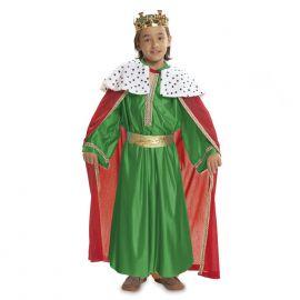 Disfraz rey mago verde 1-2