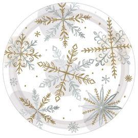 Platos postre snow
