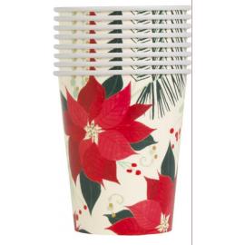 Vasos flor de navidad