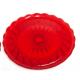 Bandejas plastico duro rojas 2 und