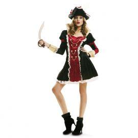 Disfraz pirata real chica luxe