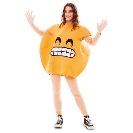 Disfraz emoticono riendo