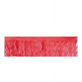 Fleco plastico 25m rojo