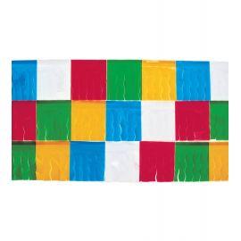 Fleco plastico 25m multicolor