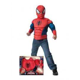 Disfraz spiderman camisa musculos