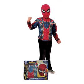Disfraz iron spider camisa musculos