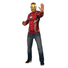 Camiseta iron man civil war