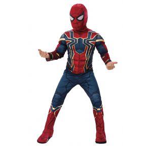 Disfraz iron spider musculo