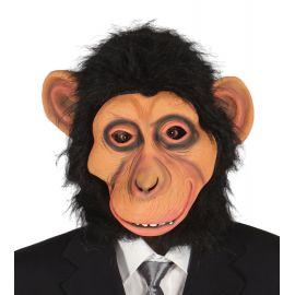 Careta eva chimpance con pelo