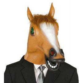Mascara caballo con pelo latex