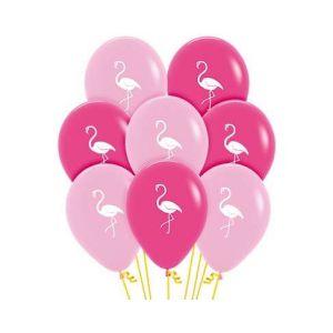 Globos flamingos
