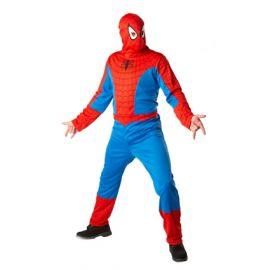 Disfraz spiderman clasico adt