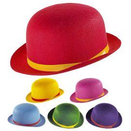 Sombrero bombin fieltro surt