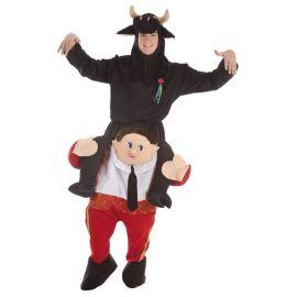 Disfraz torero en hombros rojo