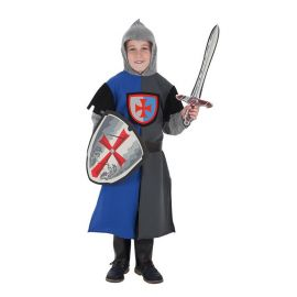 Disfraz caballero con escudo y escudo