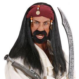 Peluca pirata chico