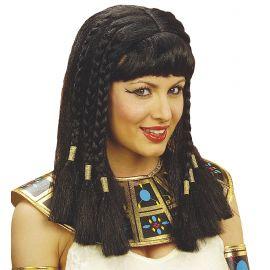 Peluca cleopatra sencilla