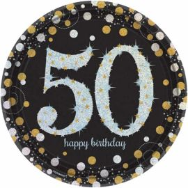 Platos celebracion 50 cumple