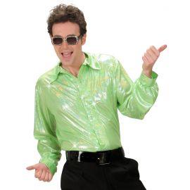 Camisa verde holografica