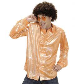 Camisa naranja holografica