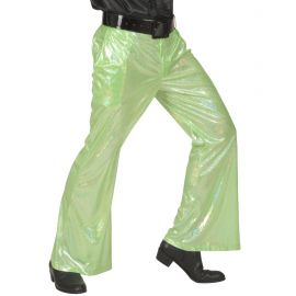 Pantalon verde holografico