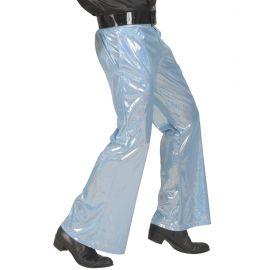 Pantalon azul holografico