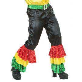Pantalon volantes colore surt