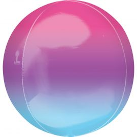 Globo helio esfera degradada lila