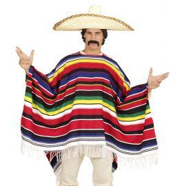 Poncho mexicano deluxe