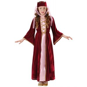 Disfraz reina medieval inf
