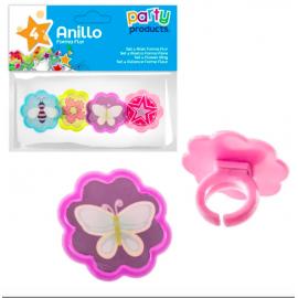 Anillos flor 4 und