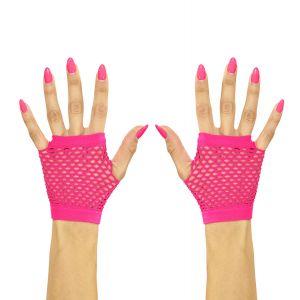 Guantes rosa fluor